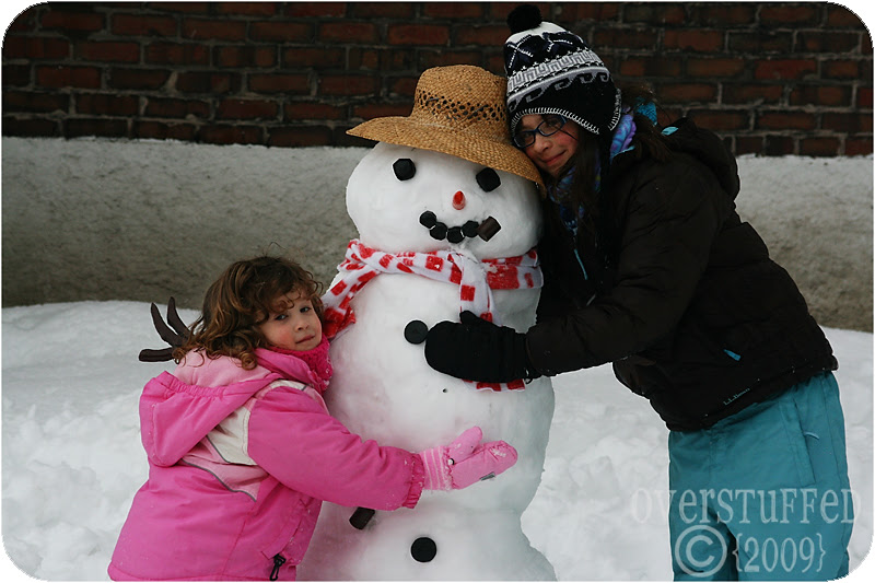 We love you, Mr. Snowman!