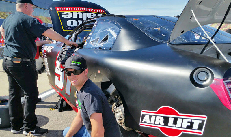 Local Favorite Chad Finley is ready for ARCA's return to MIS  - #Arca Racing Corrigan Oil 200