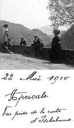Apricale, foto centenaria
