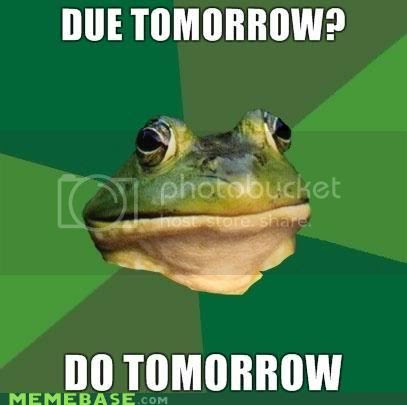 @BatteredHope  Help for procrastinators
