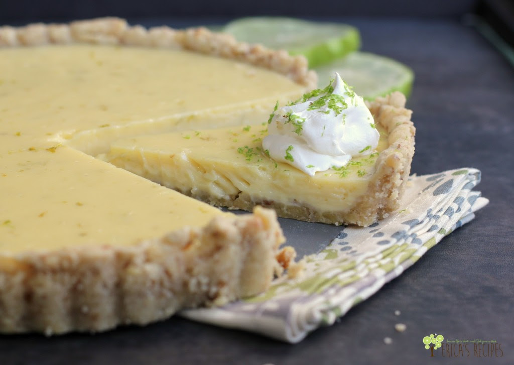 Walnut Lime Tart