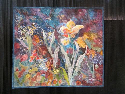 """""""Evening Garden"""" by Marianne Williamson of Miami, FL"""