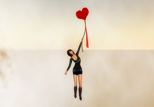 Mary Poppins style ballon flight helper