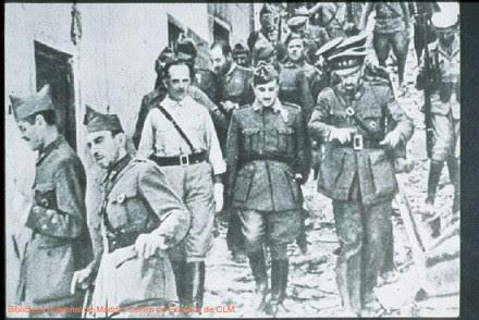 Franco y Varela entran en Toledo