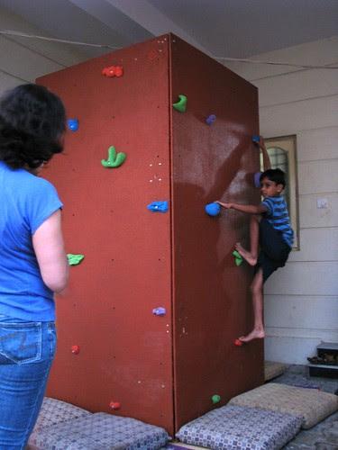 Mobile Climbing Wall 4