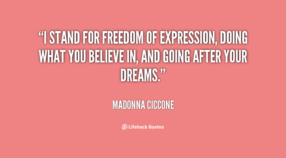 Quotes About Liberty Of Expression 30 Quotes