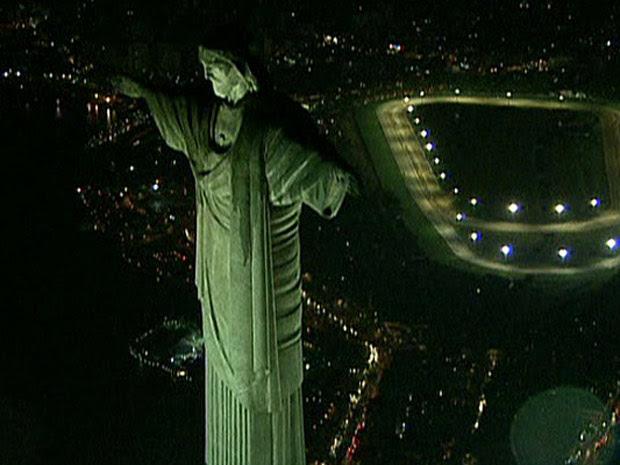 cristo em 2009 (Foto: Reprodução/ TV Globo)
