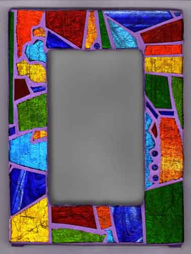 The Art Of Ann E Soto Custom Glass Mosaic Stained Glass Frame Page