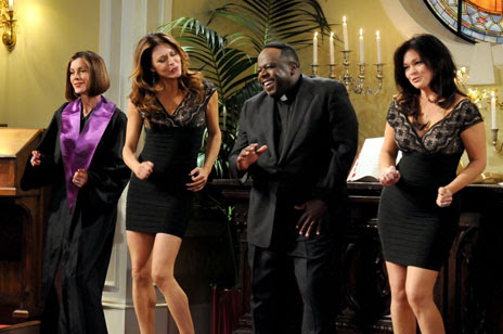 Cedric on Hot in Cleveland