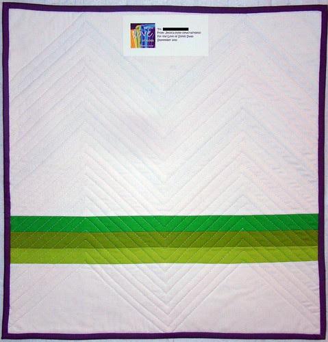 FTLOS mini quilt back