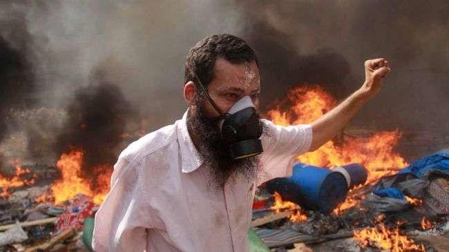 Demonstran pro Morsi di Kairo Mesir.jpg