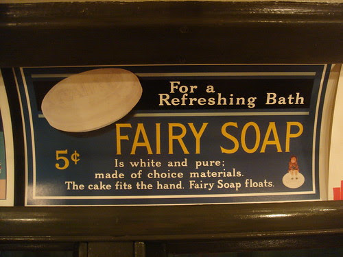 Old soap ad