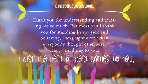 Thank You For Always By My Side Quotes Quotations Sayings 2019