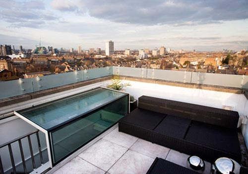 Apartment Design in London With Furnished Roof Top Terrace : 2014 ...