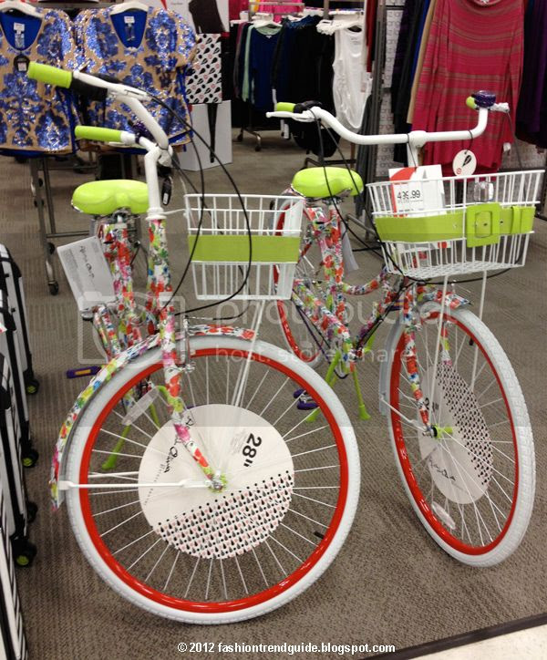 Alice + Olivia Target Neiman Marcus floral bike