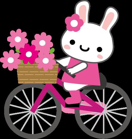 自転車のイラスト無料イラストフリー素材