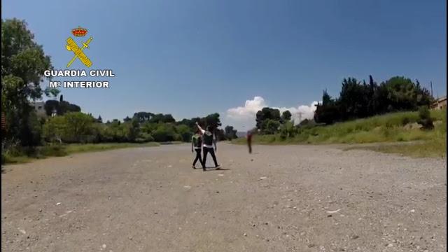 La Guardia Civil detecta numerosas infracciones en el vuelo con drones en Barcelona