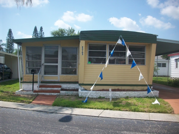 Click The Images to View Larger  Mobile Home for Sale Pinellas Park$1 Dollar Home