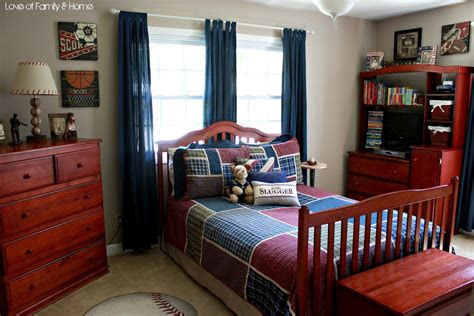 parkers room vintage baseball boys bedroom love