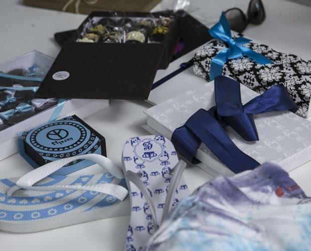 Detalhes de alguns itens que podem ser incluídos na festa  (Foto: Inácio Moraes / Gshow)