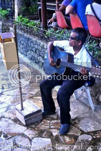 blind man singing