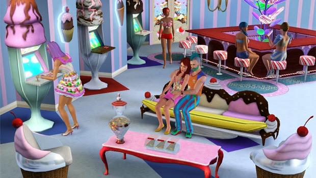The Sims 3 - Katy Perry's Sweet Treats (Foto: Divulgação)