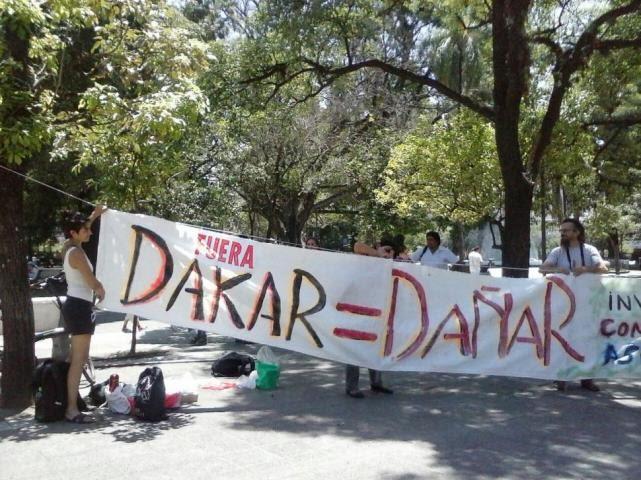 El Dakar contamina, Asesina