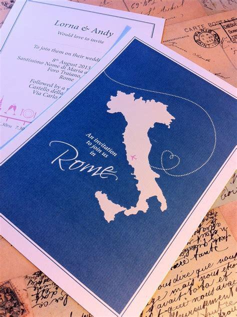 25  best ideas about Italian wedding invitations on