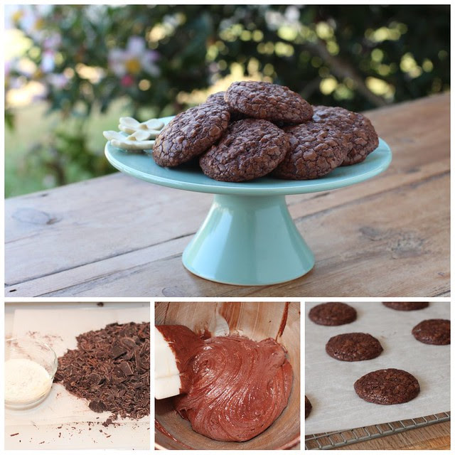 Brownie Cookies Collage