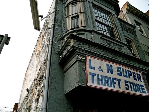 "L & N ""SUPER"" thrift store"