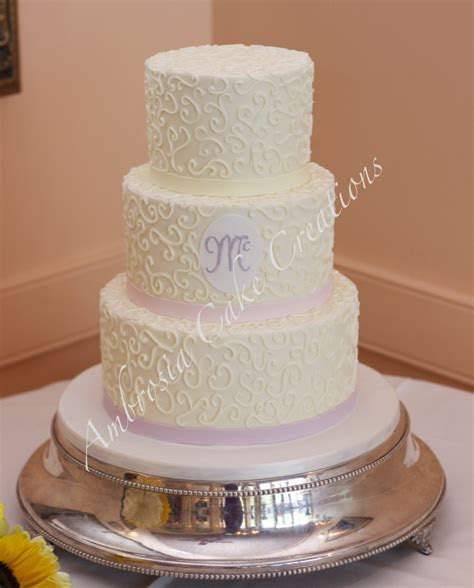Intimate wedding in Raleigh, NC   Ambrosia Cake Creations