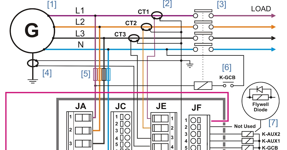 wiring diagram of amf panel  wireless cable diagram  delco