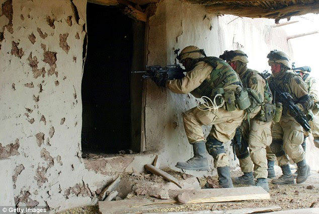 Members of the clandestine Delta Force