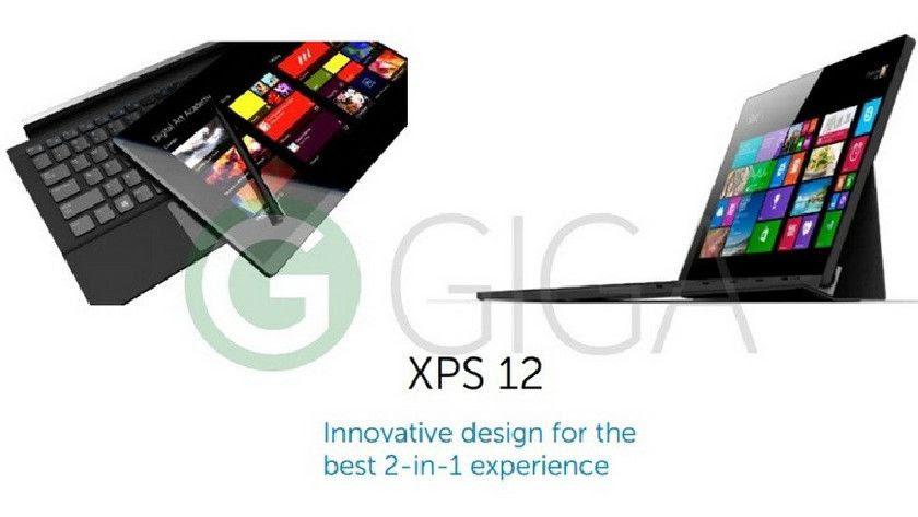 El Dell XPS 12 es un clone de Surface Pro y tiene buena pinta