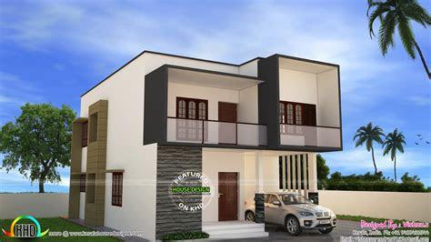 simple modern house  vishnu  home design decor