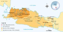 Lokasi Tarumanagara
