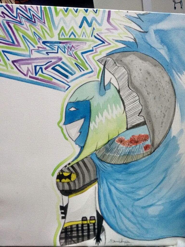 Bat Arco Iris Art Amino