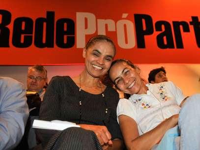 Heloísa Helena (Psol) participou do lançamento da Rede, em Brasília Foto: José Cruz / Agência Brasil