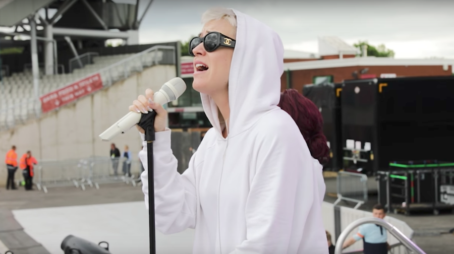 See Katy Perry's Behind-the-Scenes One Love Manchester Video