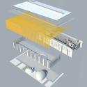 Pontivy Media Library / Opus 5 architectes Exploded Axonometric