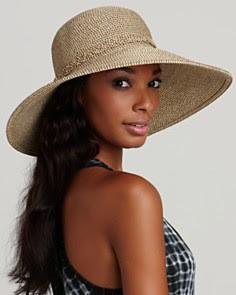 San Diego Hat Company Ultrabraid Wide Brim Metallic Hat