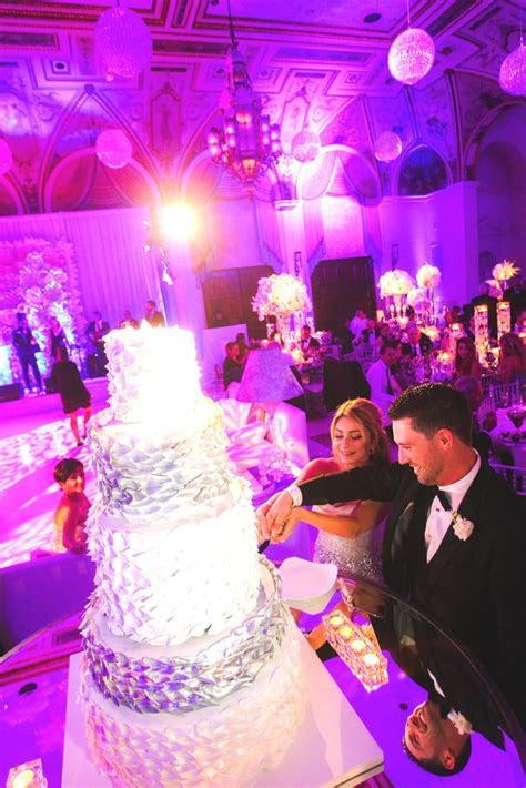 the Mediterranean ballroom palm beach cake cutting and the