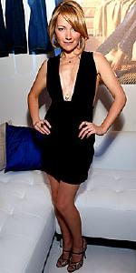 Becki Newton wearing Jenni Kayne