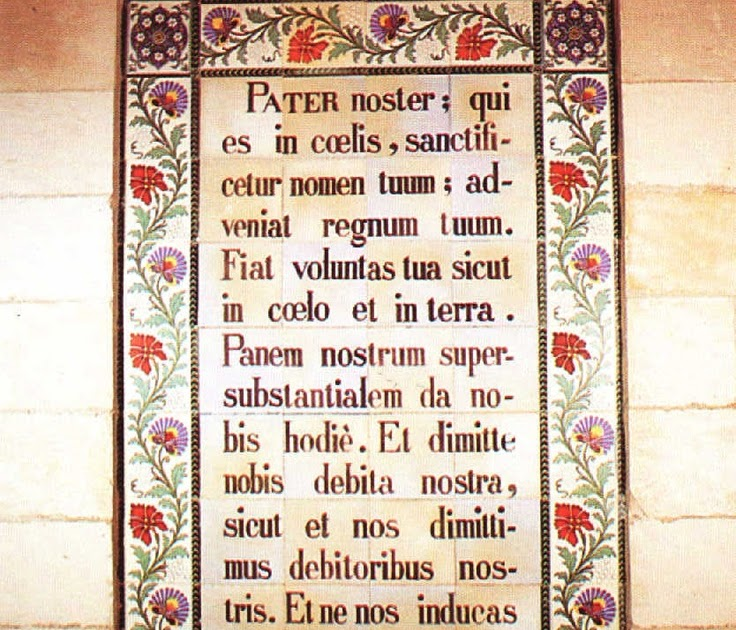 Pater noster pronunciation 28 images pater noster our for Pronounce canape