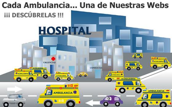Cada Ambulancia... Una de Nuestras Webs. ¡¡¡ DESCÚBRELAS !!!