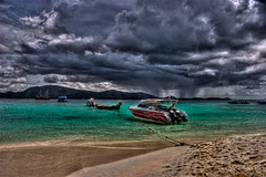 Storm Approaching Paradise - Coral Island, Phu...