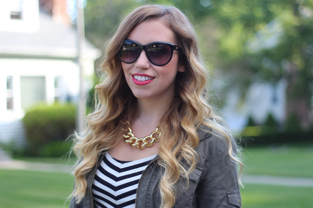 Living After Midnite: East vs West Style Fashion Nautical Stripes