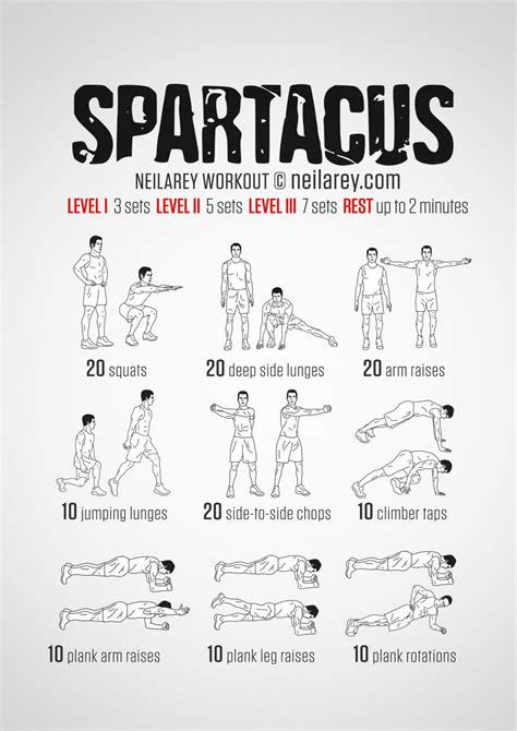 equipment spartacus bodyweight workout   fitness