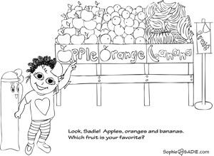650 Apple Farm Coloring Pages For Free