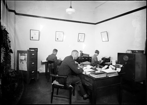 Working in an office (St Stephens)